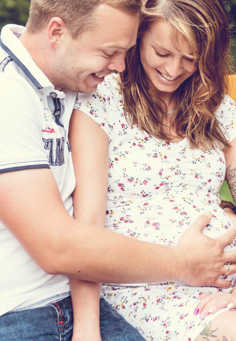 Babybauchshooting mit Isi und David